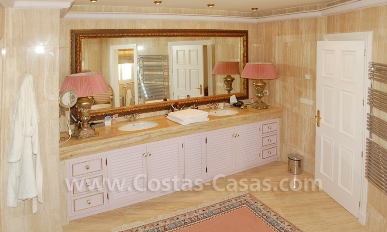 Exclusive villa for sale in Sierra Blanca at the Golden Mile in Marbella 20