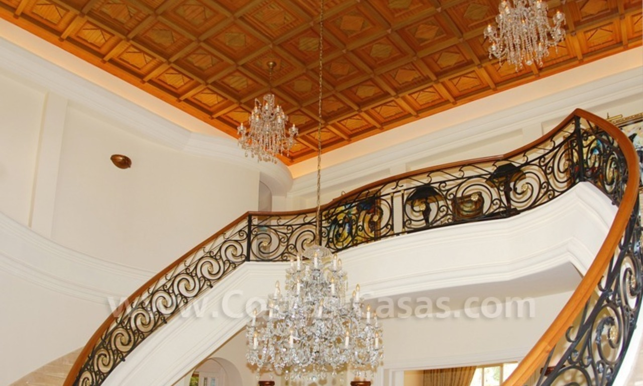 Exclusive villa for sale in Sierra Blanca at the Golden Mile in Marbella 7