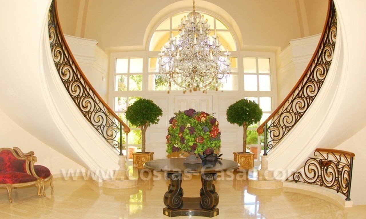 Exclusive villa for sale in Sierra Blanca at the Golden Mile in Marbella 6