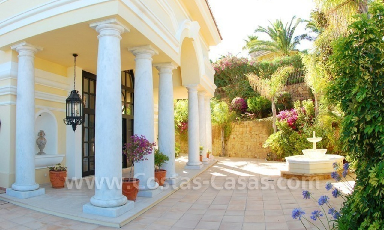 Exclusive villa for sale in Sierra Blanca at the Golden Mile in Marbella 4