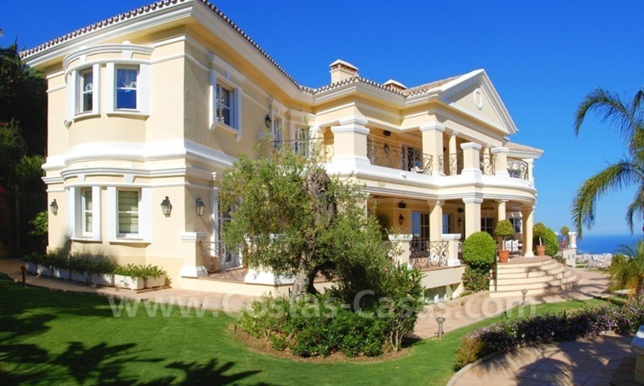 Exclusive villa for sale in Sierra Blanca at the Golden Mile in Marbella 3