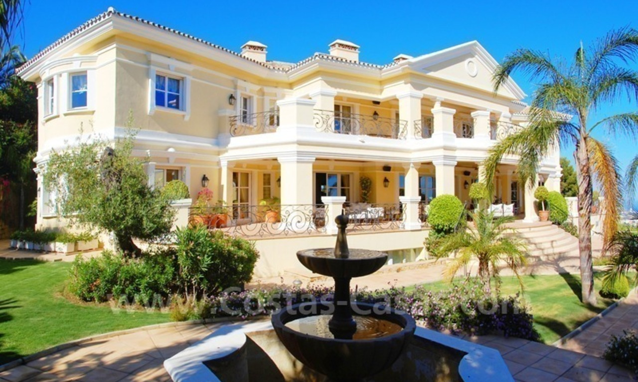 Exclusive villa for sale in Sierra Blanca at the Golden Mile in Marbella 2