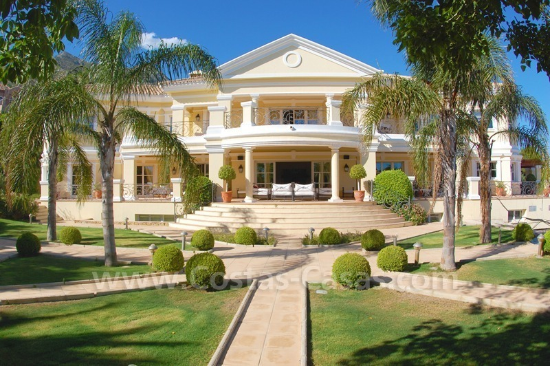 Exclusive villa for sale in Sierra Blanca at the Golden Mile in Marbella