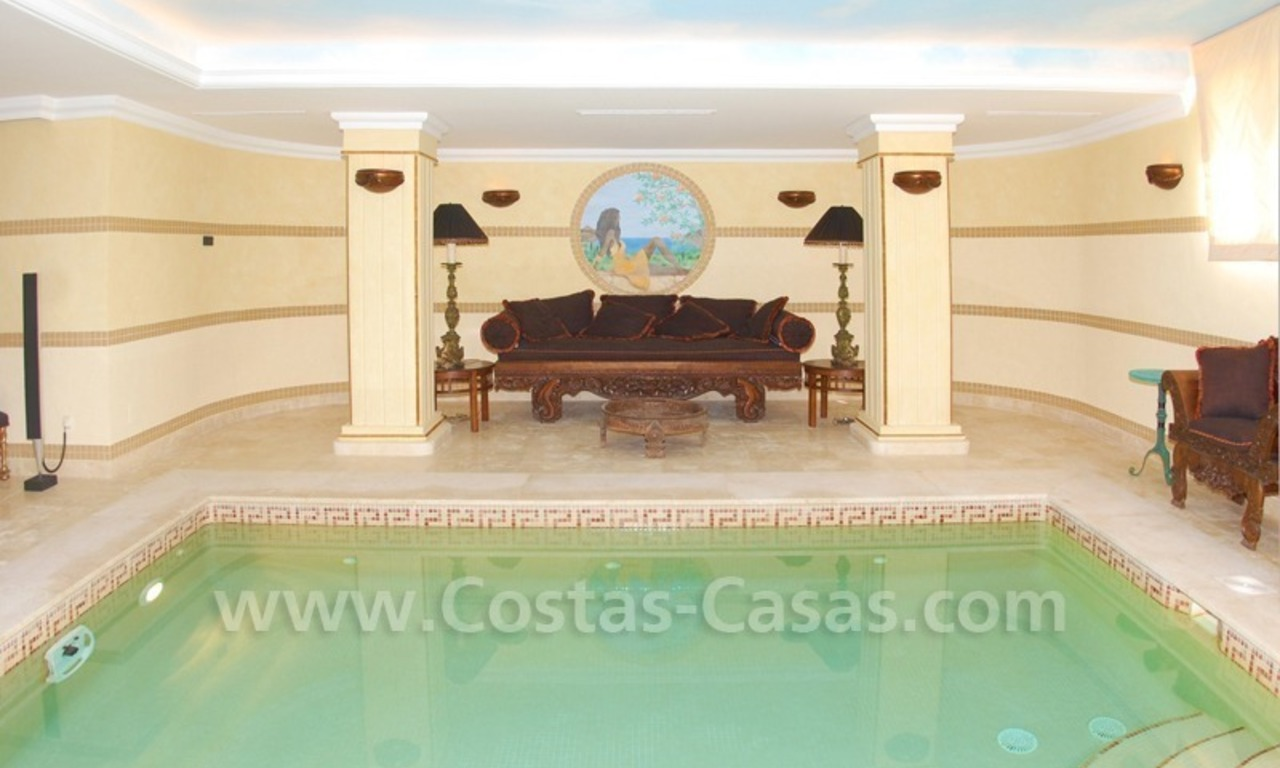 Exclusive villa for sale in Sierra Blanca at the Golden Mile in Marbella 29