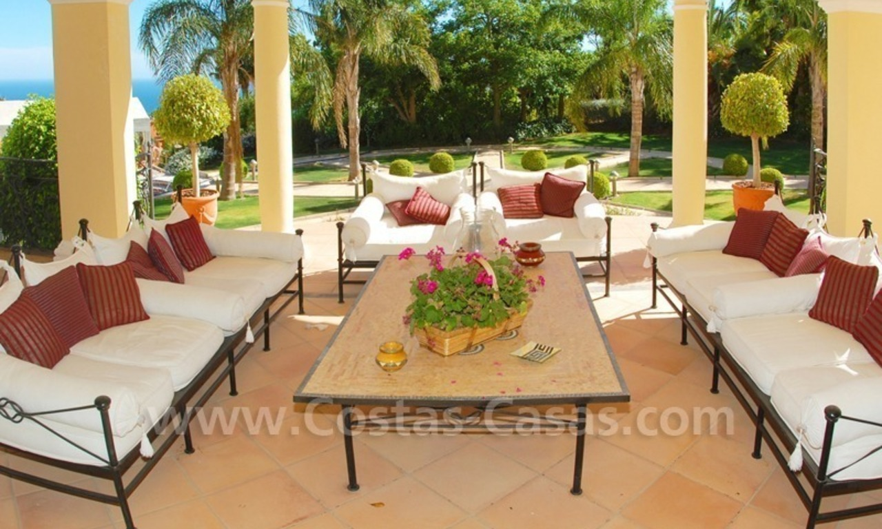 Exclusive villa for sale in Sierra Blanca at the Golden Mile in Marbella 14