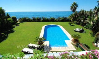 Exclusive frontline beach villa for sale, Marbella - Estepona 0