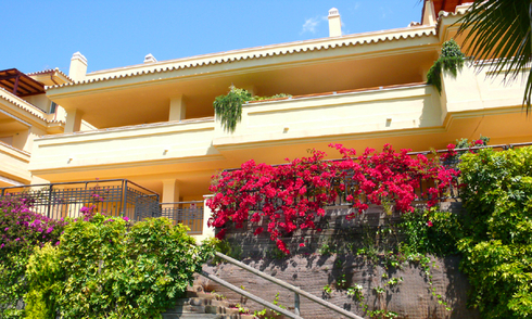 Luxury apartments for sale, Golden Mile, Marbella