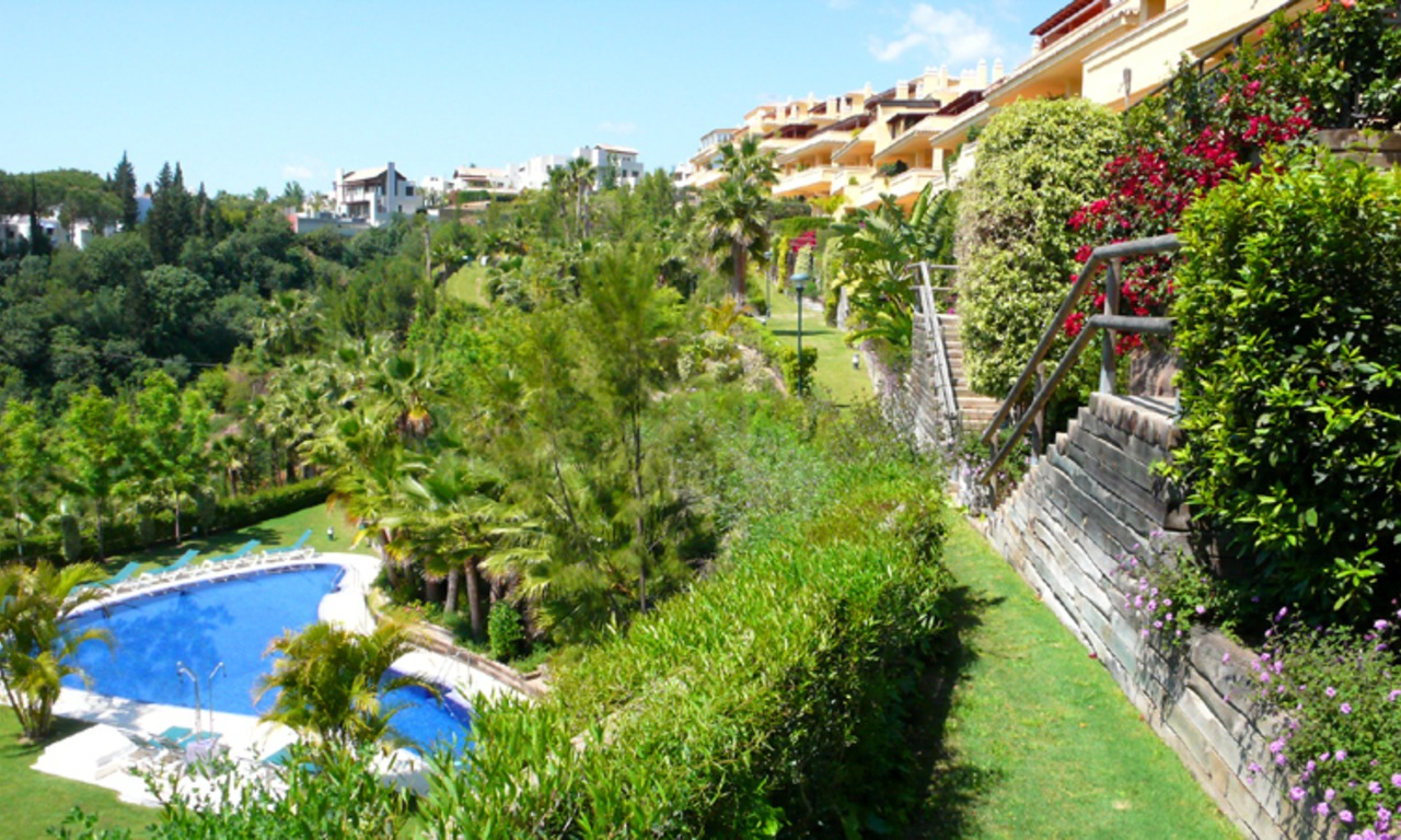 Luxury apartments for sale, Golden Mile, Marbella 1