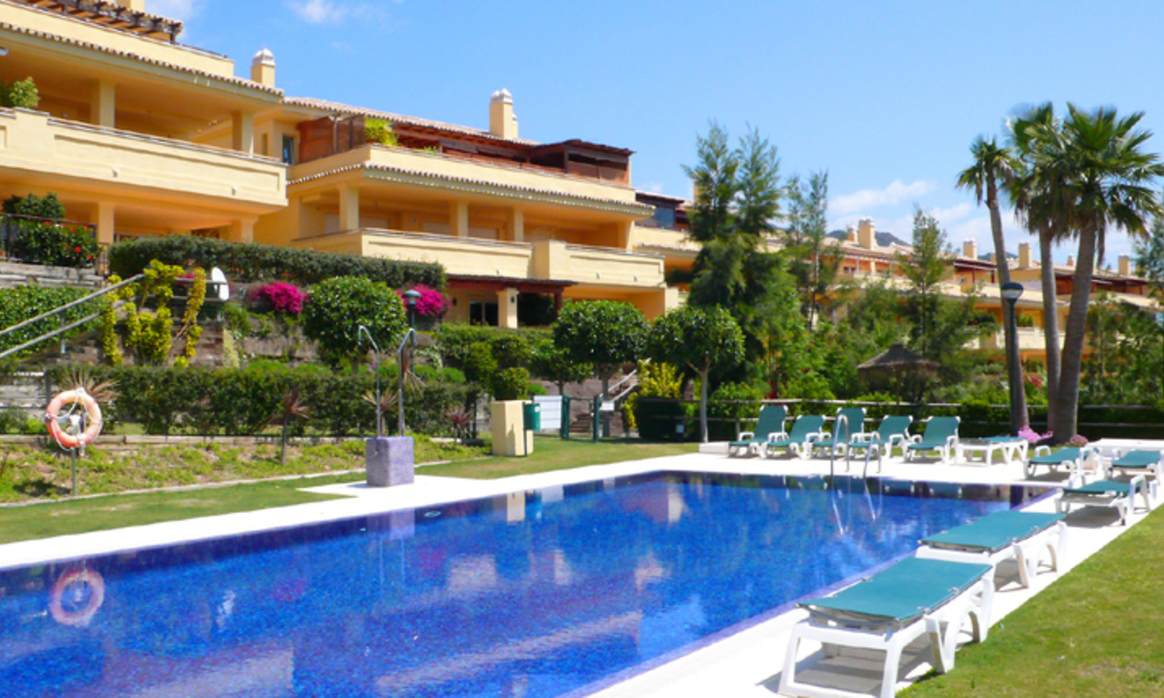 Luxury apartments for sale, Golden Mile, Marbella 2