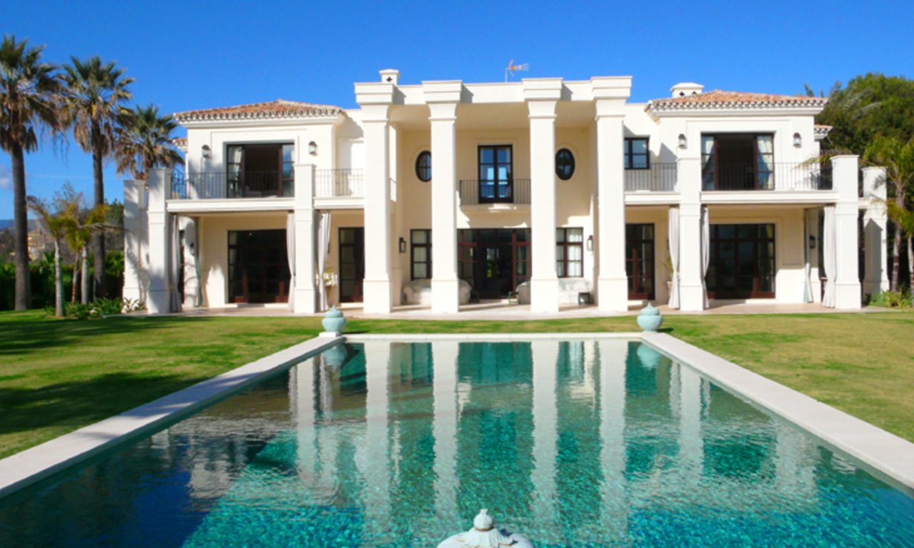 Beachside Villa, palatial property for sale, near beach, Marbella 0