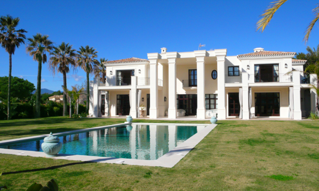 Beachside Villa, palatial property for sale, near beach, Marbella 1