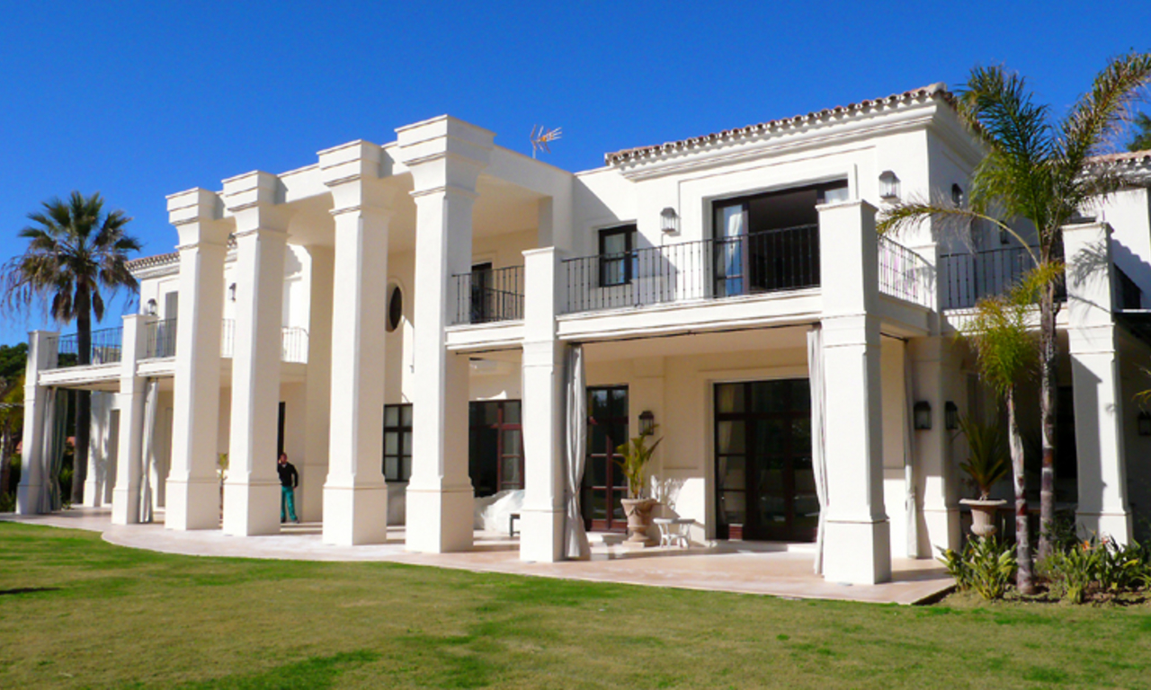 Beachside Villa, palatial property for sale, near beach, Marbella 2
