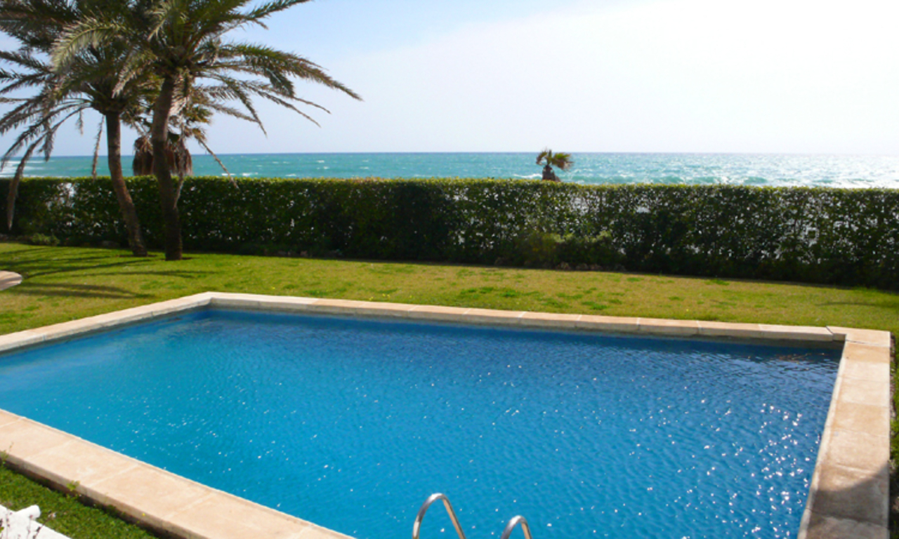 Beachfront, frontline beach apartment for sale, Golden Mile, Marbella – Puerto Banus 0