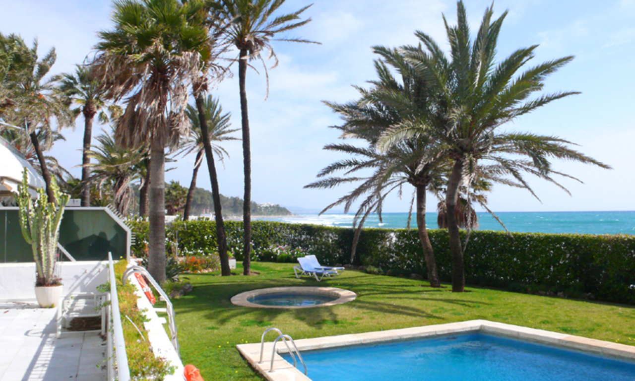 Beachfront, frontline beach apartment for sale, Golden Mile, Marbella – Puerto Banus 2