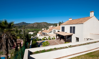 Modern houses for sale in the area of Marbella – Benahavis at the Costa del Sol 11