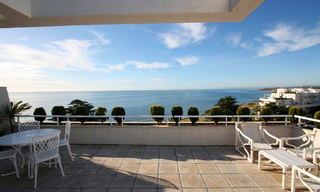 Estepona New Golden Mile for sale: beachfront penthouse 1