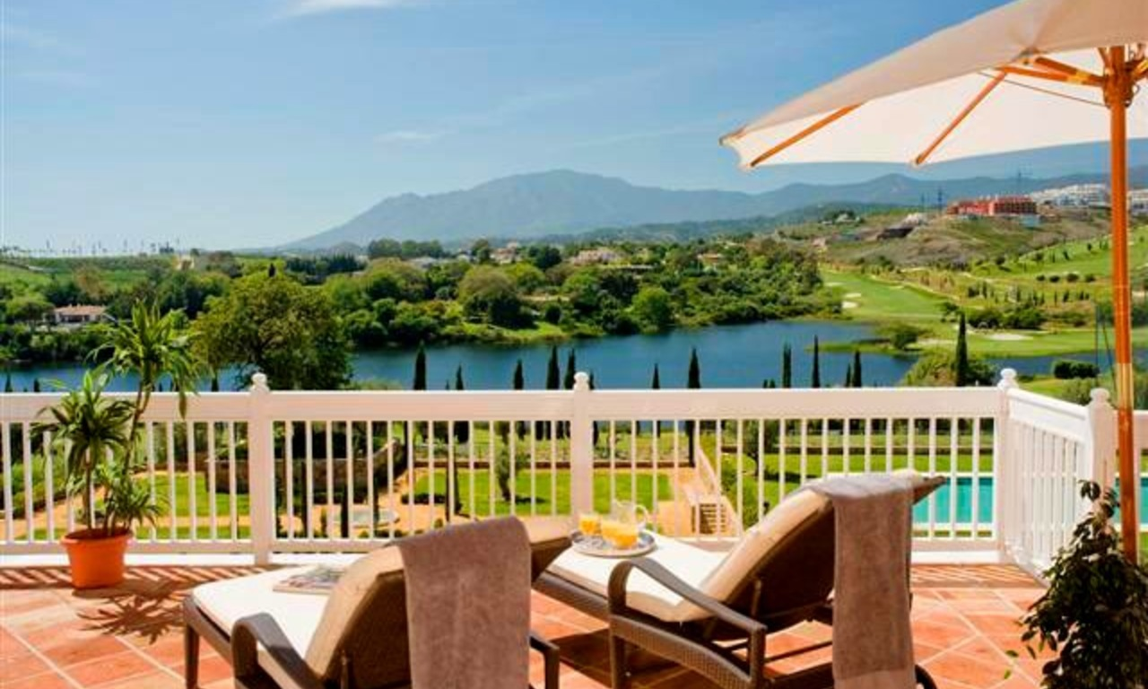 Frontline golf apartments and penthouse for sale in Golf resort Marbella - Benahavis - Estepona 0