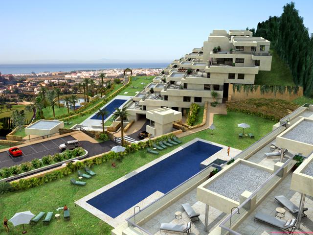 New Modern luxury apartments to buy in Nueva Andalucia - Marbella