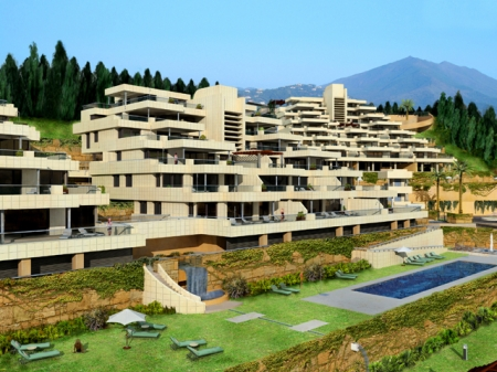 New Modern luxury apartments to buy in Nueva Andalucia - Marbella 2