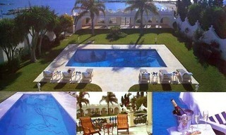 Prestige beachfront villa for sale, Puerto Banus - Marbella 1