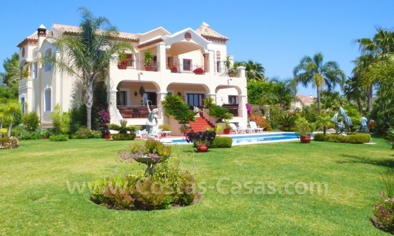 Exclusive villa to buy, Sierra Blanca, Golden Mile Marbella 0