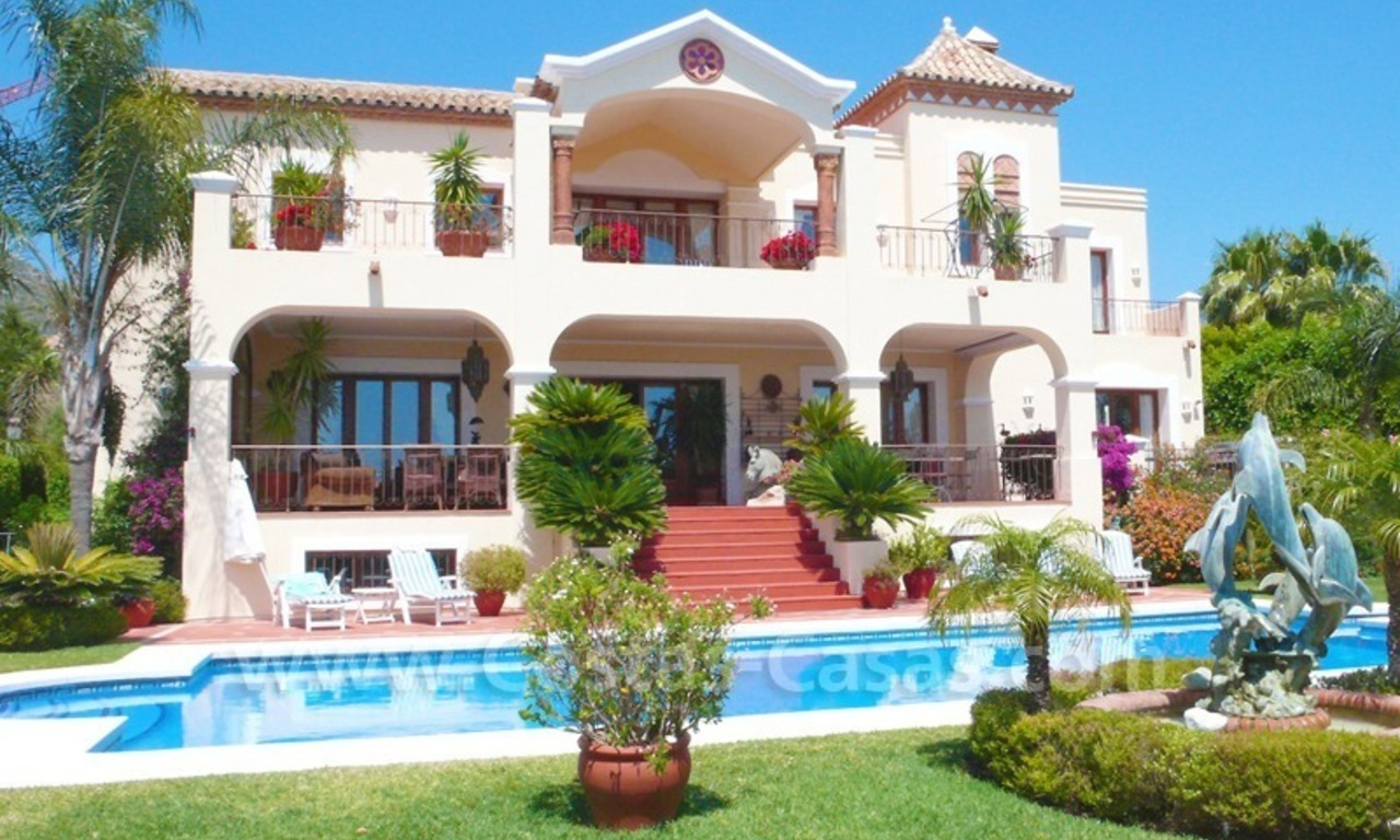 Exclusive villa to buy, Sierra Blanca, Golden Mile Marbella 1