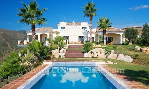 Exclusive villa for sale, on an exclusive golf resort, Marbella - Benahavis
