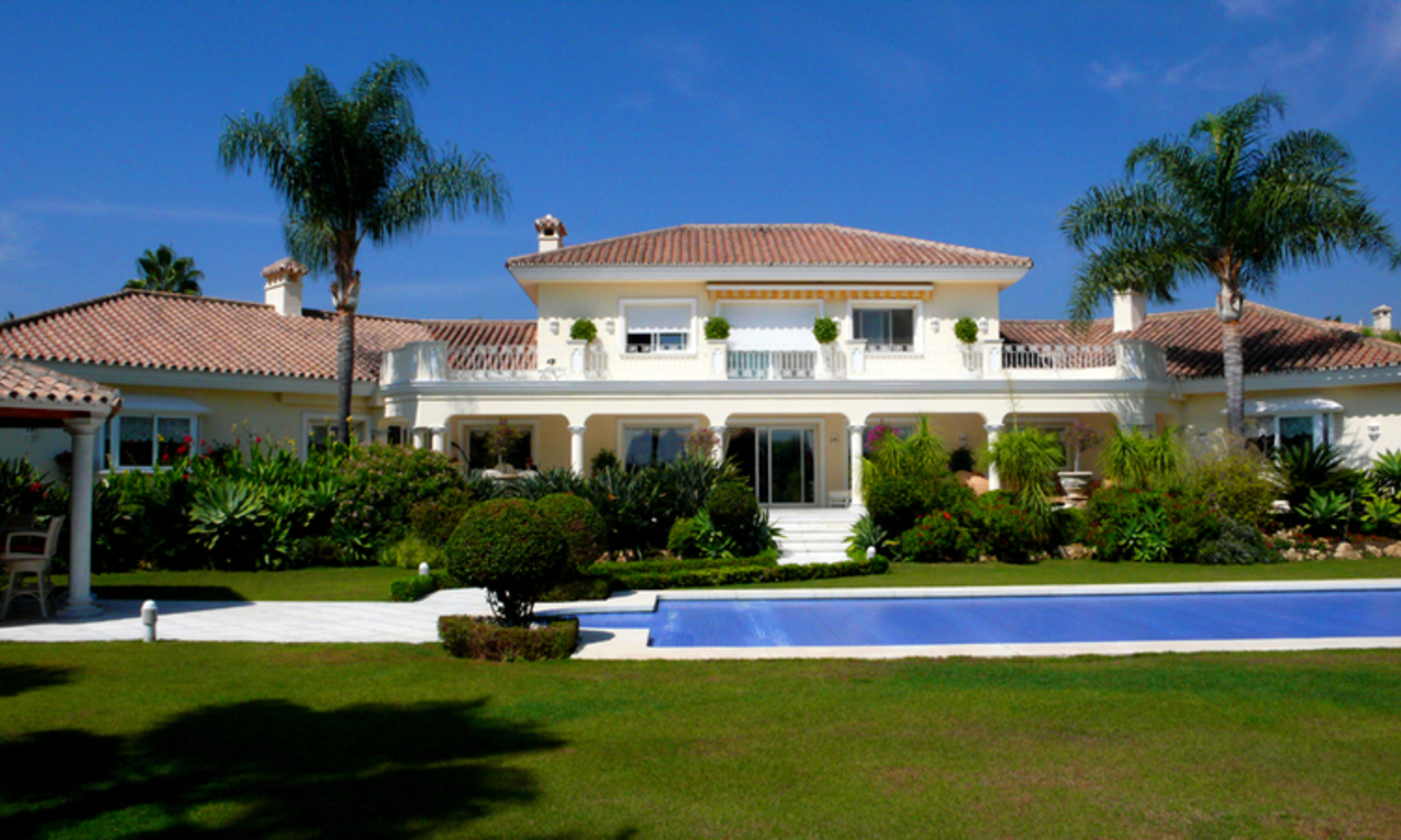 Exclusive new villa to buy, Nueva Andalucia - Marbella 1