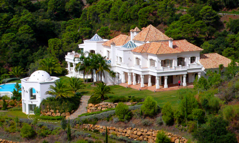 Grand palatial villa for sale in La Zagaleta resort, Marbella - Benahavis