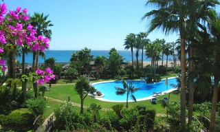 Beachfront apartment for sale, first line beach Puerto Banus - Marbella 0