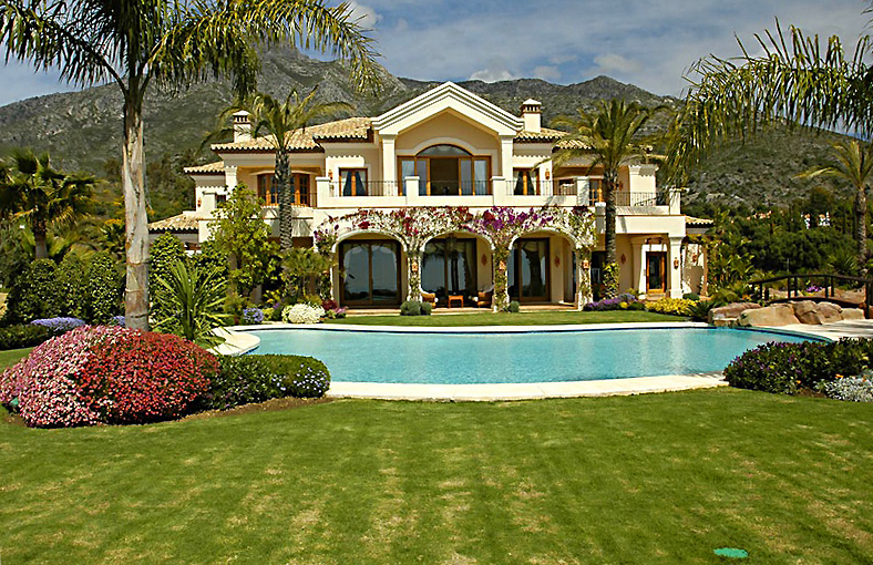 Exclusive villa for sale, Golden Mile, Marbella