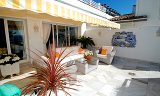 Spacious frontline beach penthouse for sale, New Golden Mile, between Marbella and Estepona. 5