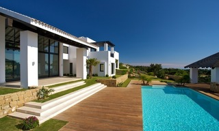 Newly built modern villa for sale, exclusive golf resort, Benahavis - Marbella 2