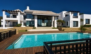 Newly built modern villa for sale, exclusive golf resort, Benahavis - Marbella 3
