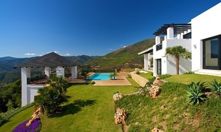 Newly built modern villa for sale, exclusive golf resort, Benahavis - Marbella 0