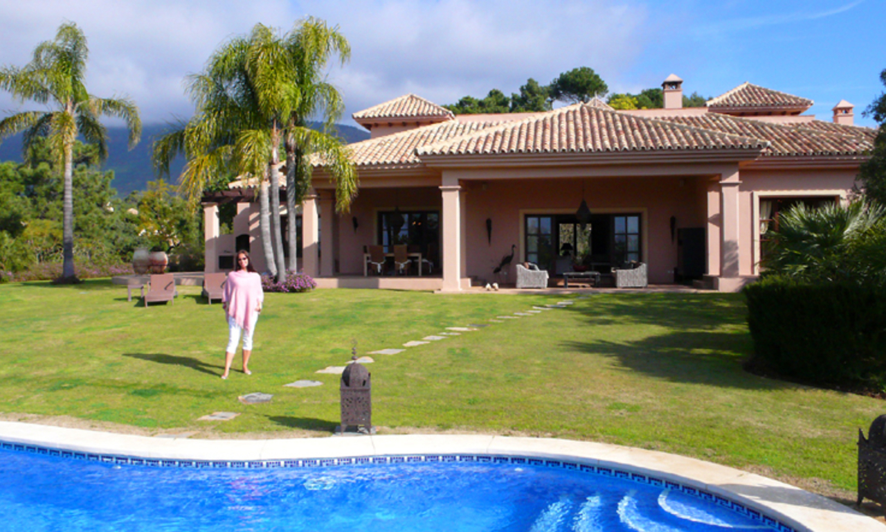 Villa for sale in La Zagaleta at Benahavis - Marbella 0