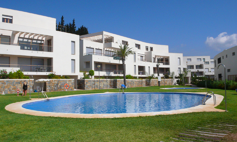 Modern luxury Apartments and penthouses for sale in Marbella