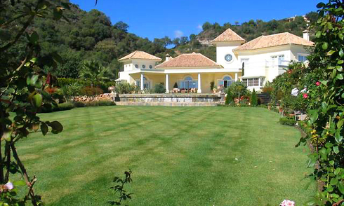Exclusive villa property for sale in La Zagaleta at Benahavis - Marbella - Costa del Sol, Spain