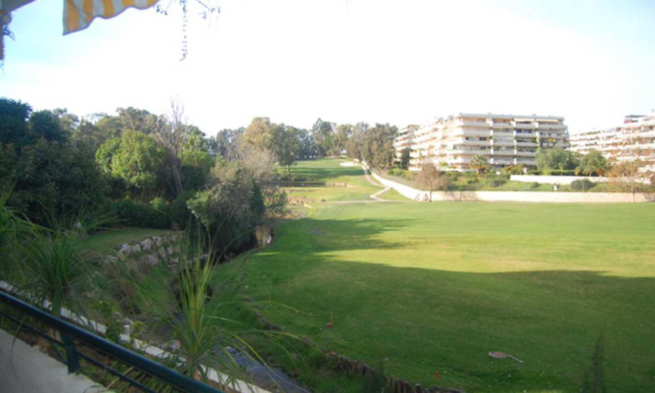 Frontline golf apartment for sale, Marbella - Benahavis 1