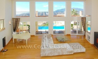 Contemporary style luxury villa for sale in Marbella 0