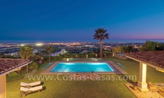 Exclusive villa for sale with a panoramic views, prestigious gated community, Marbella – Benahavis 0