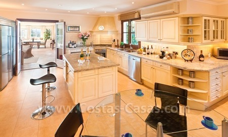 Exclusive villa for sale with a panoramic views, prestigious gated community, Marbella – Benahavis 29
