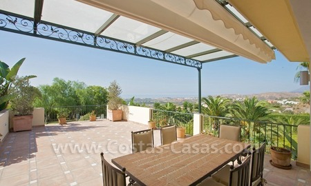 Exclusive villa for sale with a panoramic views, prestigious gated community, Marbella – Benahavis 20
