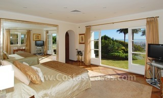 Exclusive villa for sale with a panoramic views, prestigious gated community, Marbella – Benahavis 21
