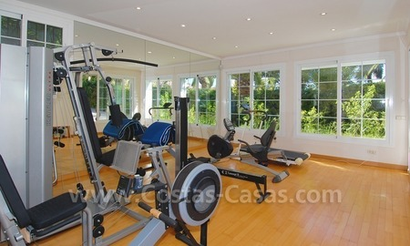 Exclusive villa for sale with a panoramic views, prestigious gated community, Marbella – Benahavis  28