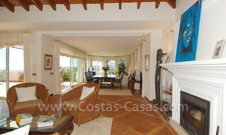Exclusive villa for sale with a panoramic views, prestigious gated community, Marbella – Benahavis 19