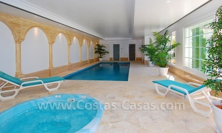 Exclusive villa for sale with a panoramic views, prestigious gated community, Marbella – Benahavis  27
