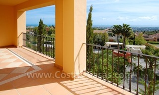 Modern luxury apartment for sale with spectacular sea views, Golf resort Marbella 2