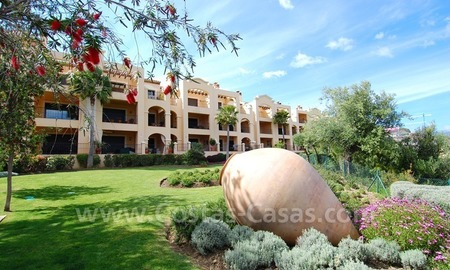 Modern luxury apartment for sale with spectacular sea views, Golf resort Marbella 22
