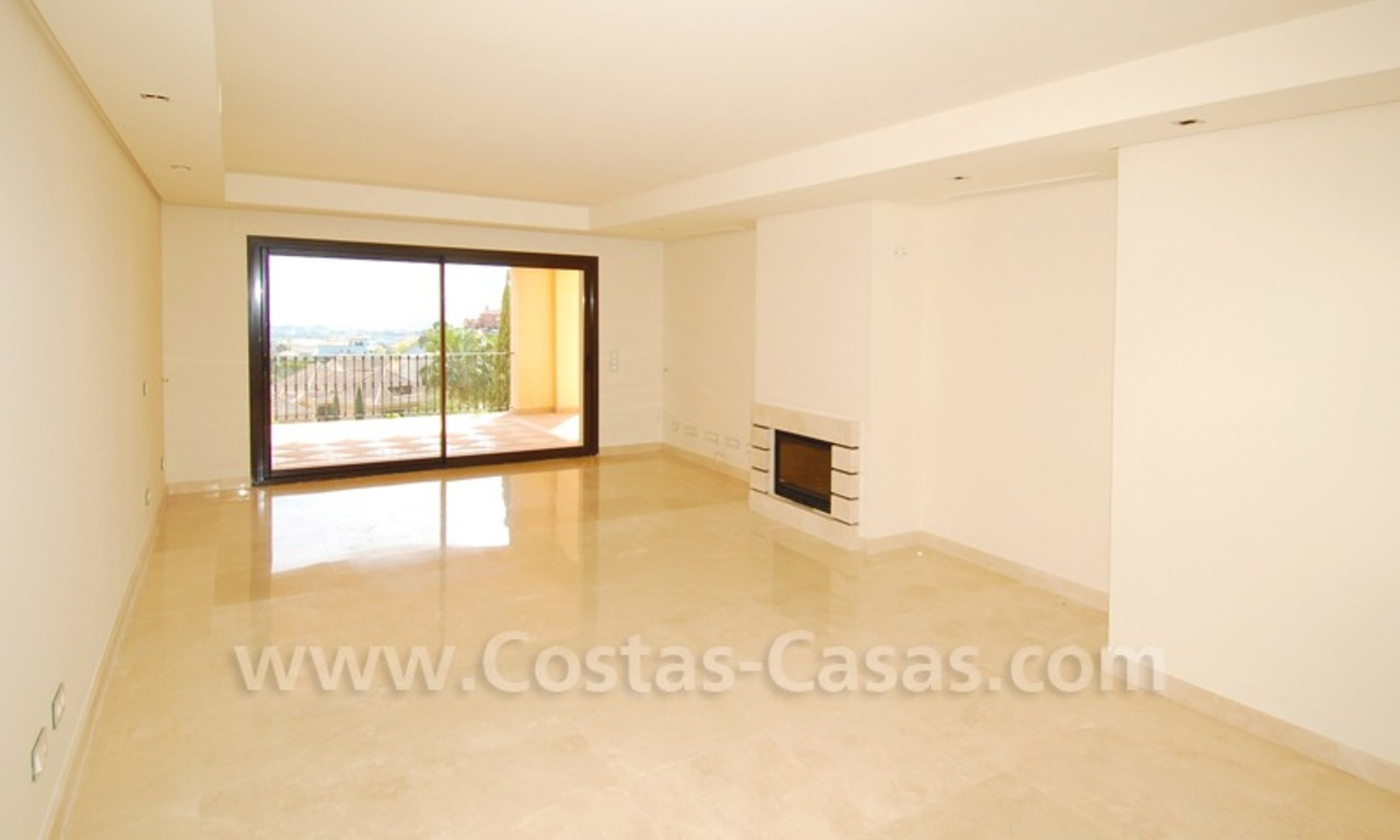 Modern luxury apartment to buy with spectacular sea views, Golf resort Marbella 6